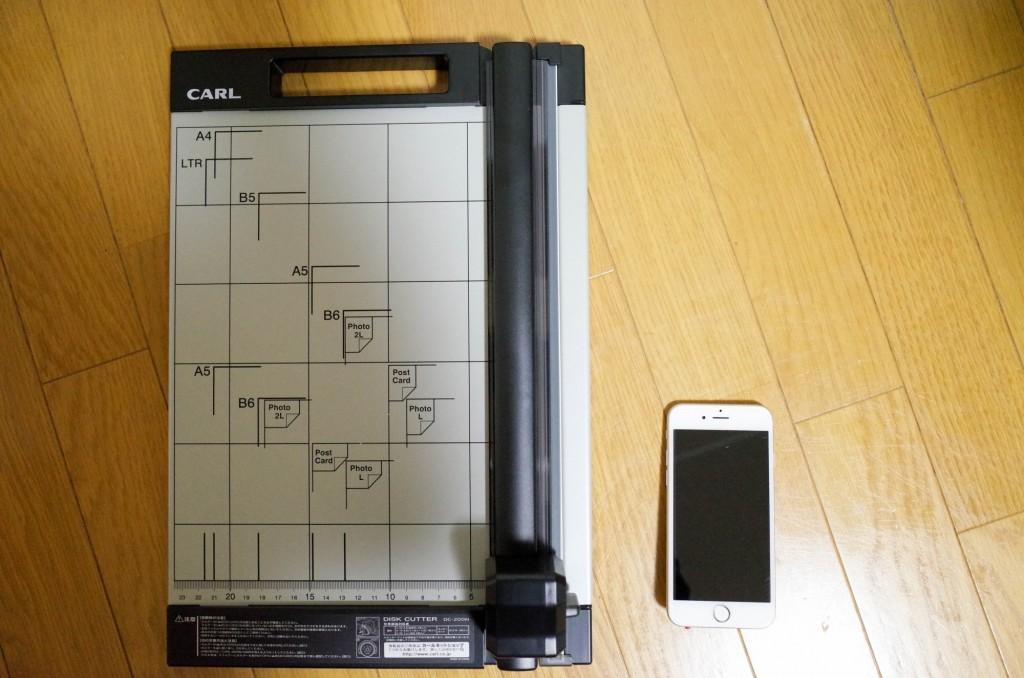 大きさをiPhone6と比較