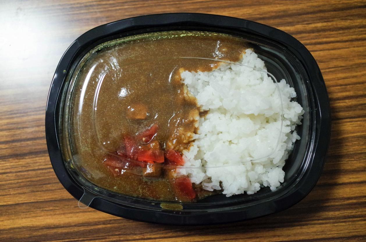 原価率研究所 亀田店 話題のカレーライス200円を食べてみた!コスパは間違いなく日本一!