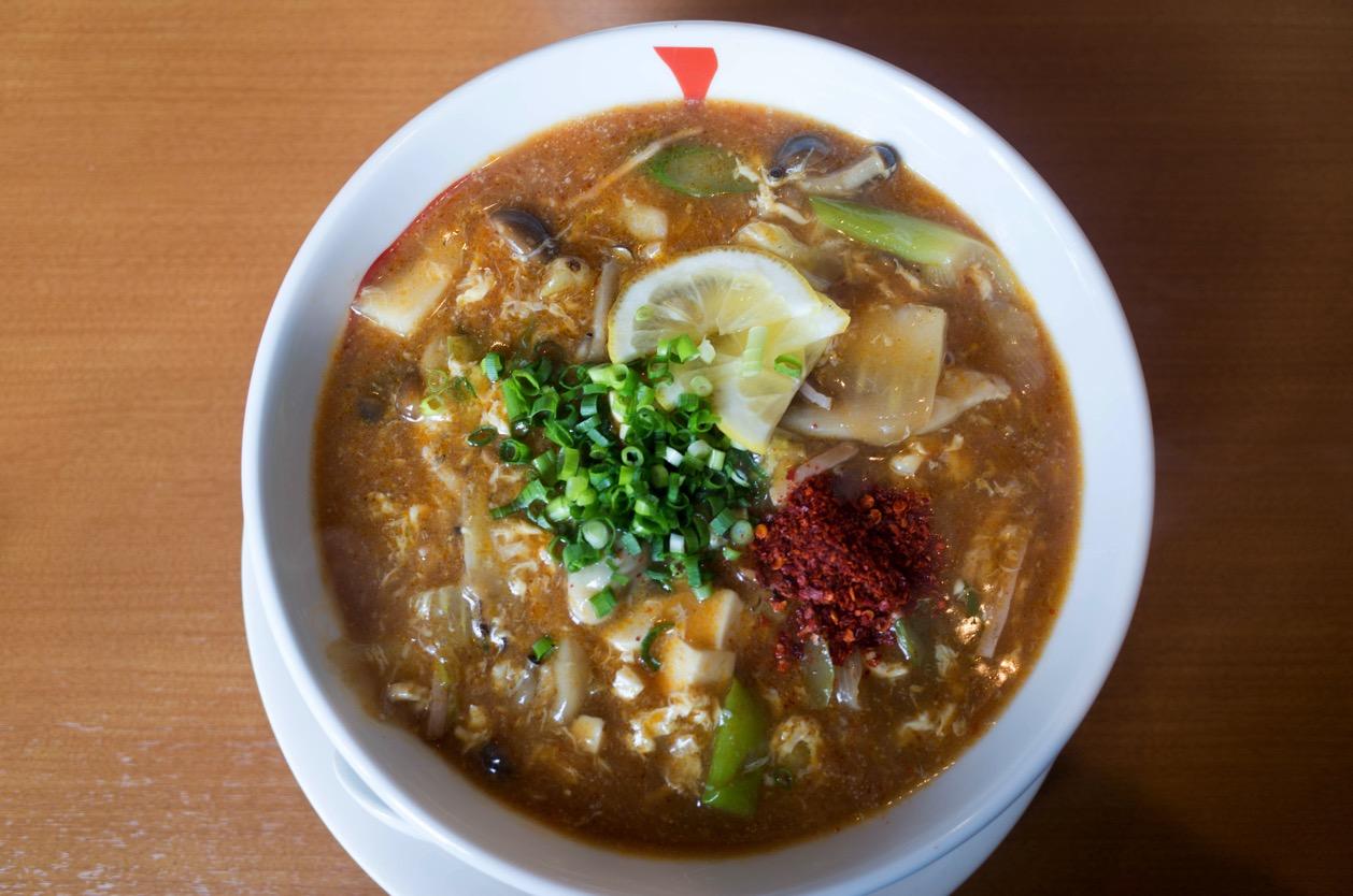 かなみ屋の酸辣湯麺(サンラータンメン)が好きな味すぎて相当ビビった!2月末までの限定なので食べたくなったらお早めに!