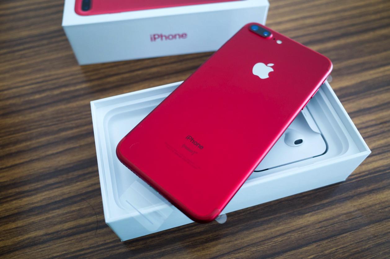 カープが好きだから【iPhone SE】を【iPhone 7 Plus (PRODUCT) RED】に買い替えたった。