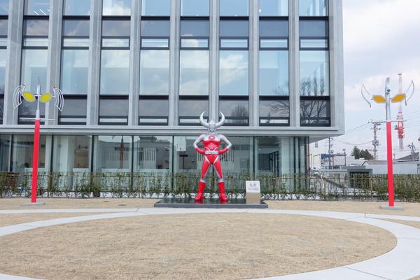 ぽぽ、神様のとこから出て行く!福島県須賀川市はウルトラマンの街!子供と一緒に遊びに行こう!