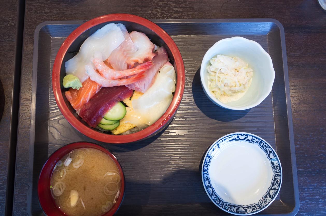 串揚 あ(新潟市中央区上近江)コスパ抜群の串揚げランチと海鮮ちらしランチを食べた!