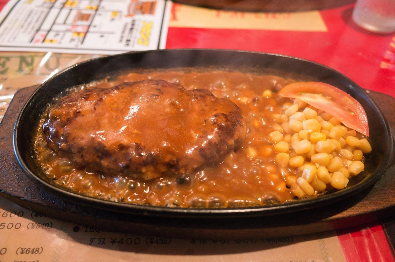 ブロンコ(新潟市中央区米山) 新潟駅南の老舗ステーキハウス。ハンバーグメインのブロンコランチを食す!
