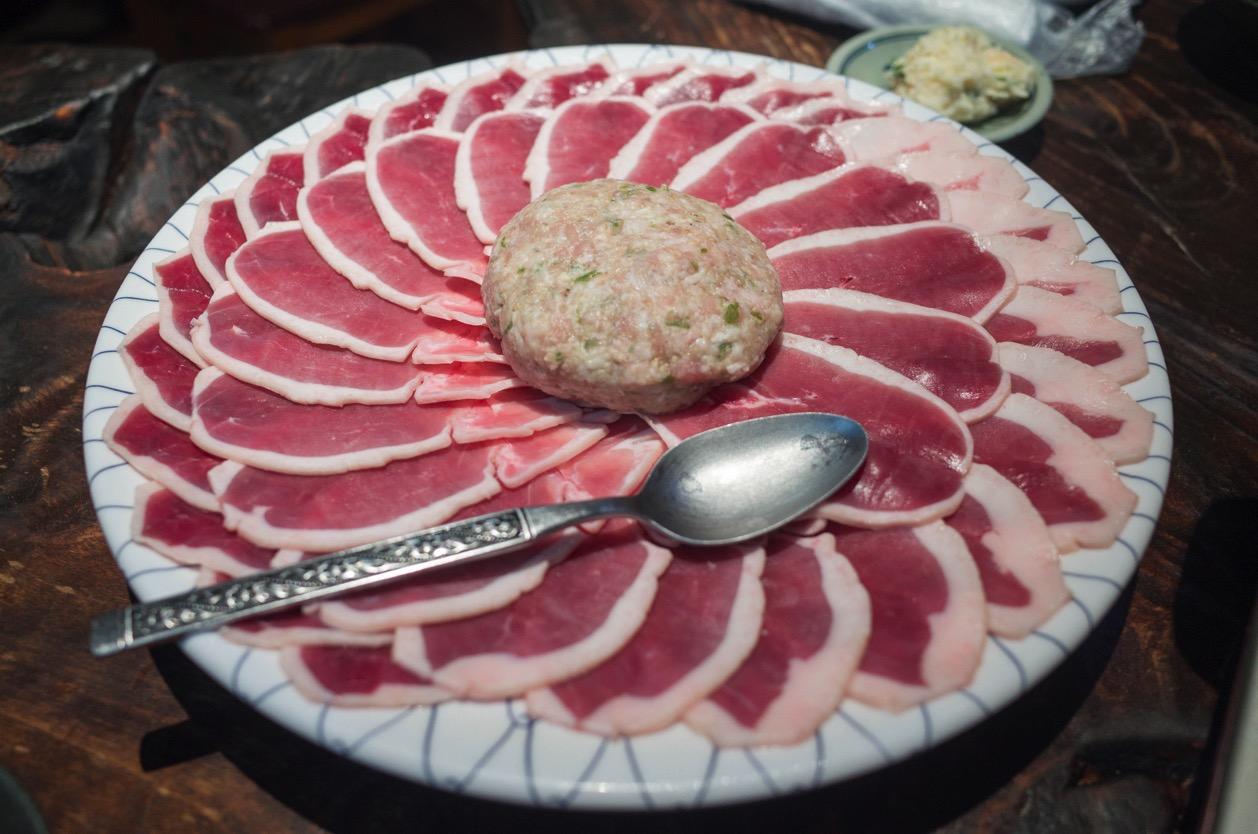 鳥名子(とりなご)京都府福知山市にあり鶏料理専門店の名物『鴨すき』が爆発的に美味い!