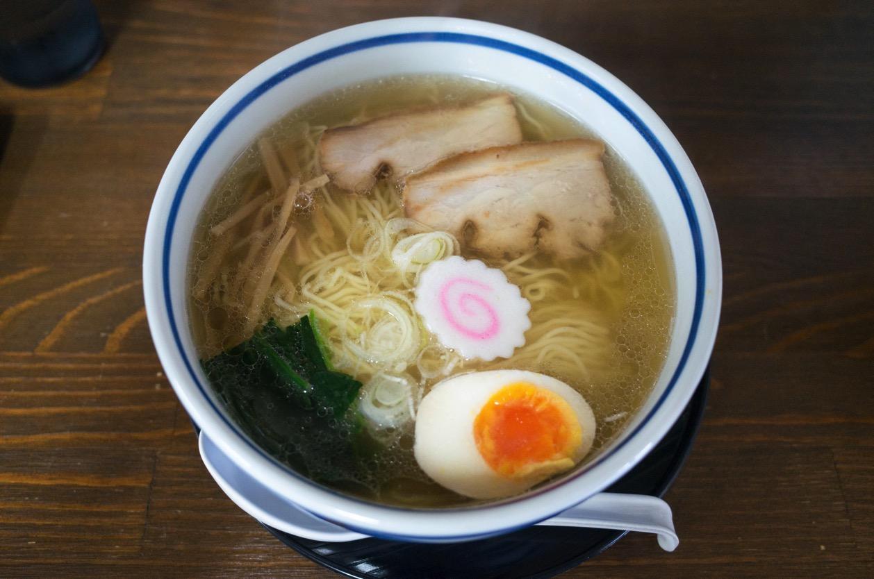 ぐゎらん洞(新潟市東区物見山)空港近くで朝ラーが食べられる!あっさり支那そば一日の活力に!