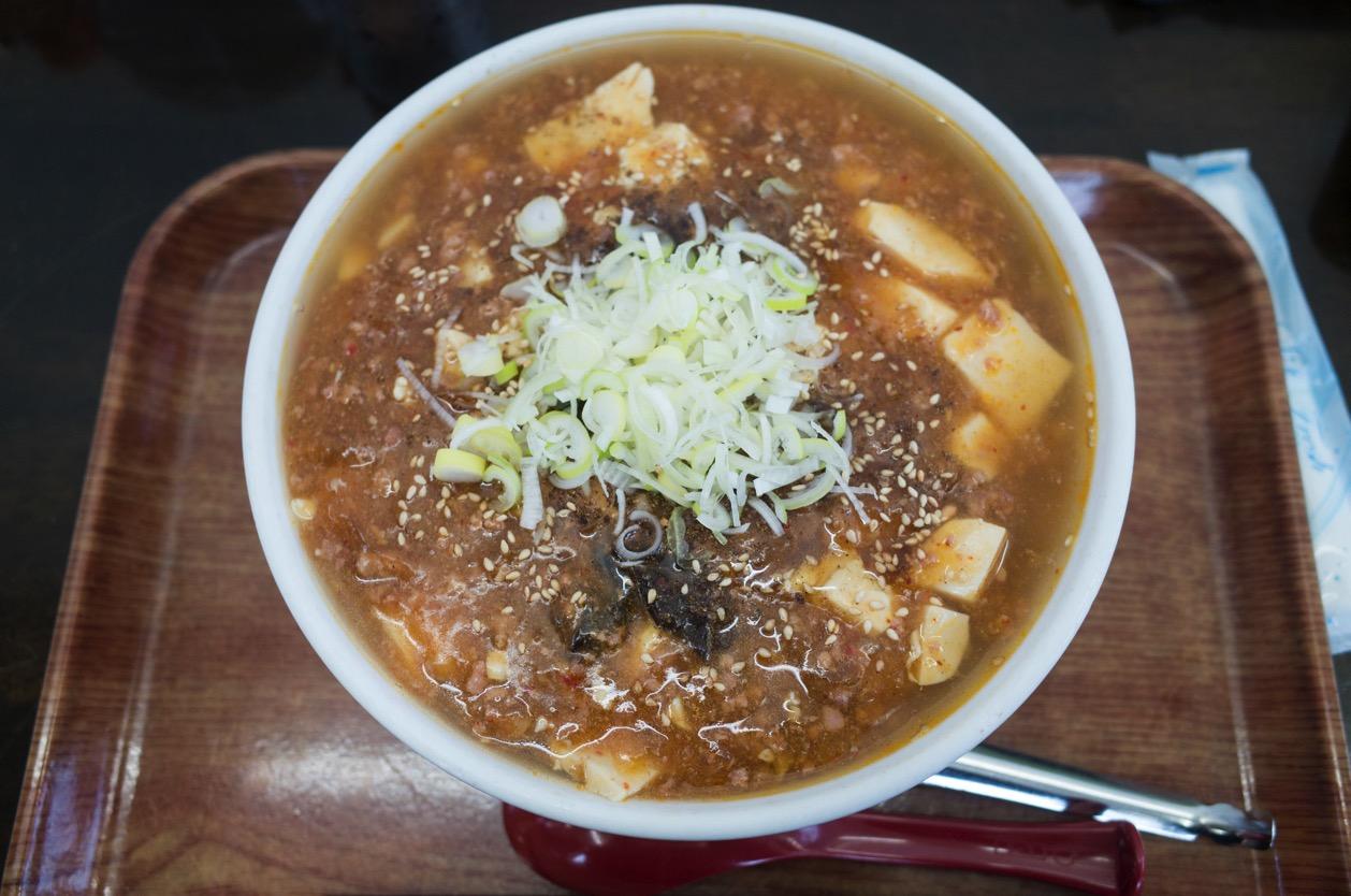 まるしん(新潟市江南区早通)のマーボ麺(麻婆麺)は迷ったら帰ってきたくなるホームラーメン!