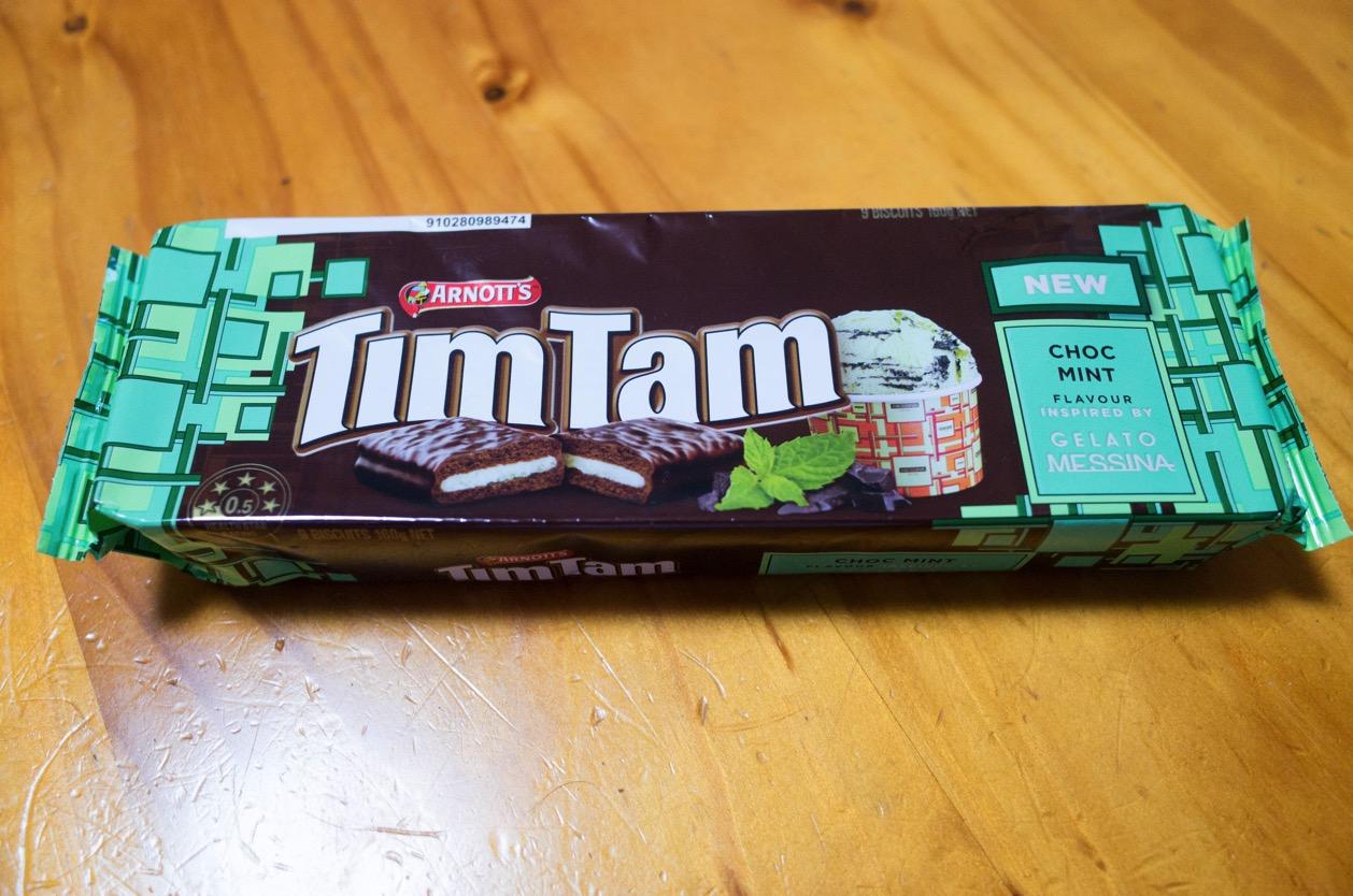 カルディ限定!TimTam(ティムタム)のチョコミント味にようやくありつけた!チョコミン党は買うしかない!
