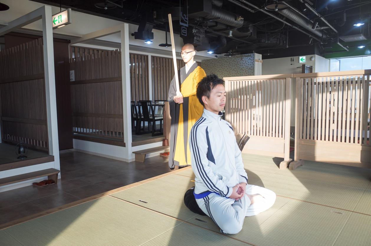 禅 -ZEN-(新潟市中央区西堀通) NEXT21の中のタニタ食堂メニューが食べられるお店で朝活坐禅を体験!