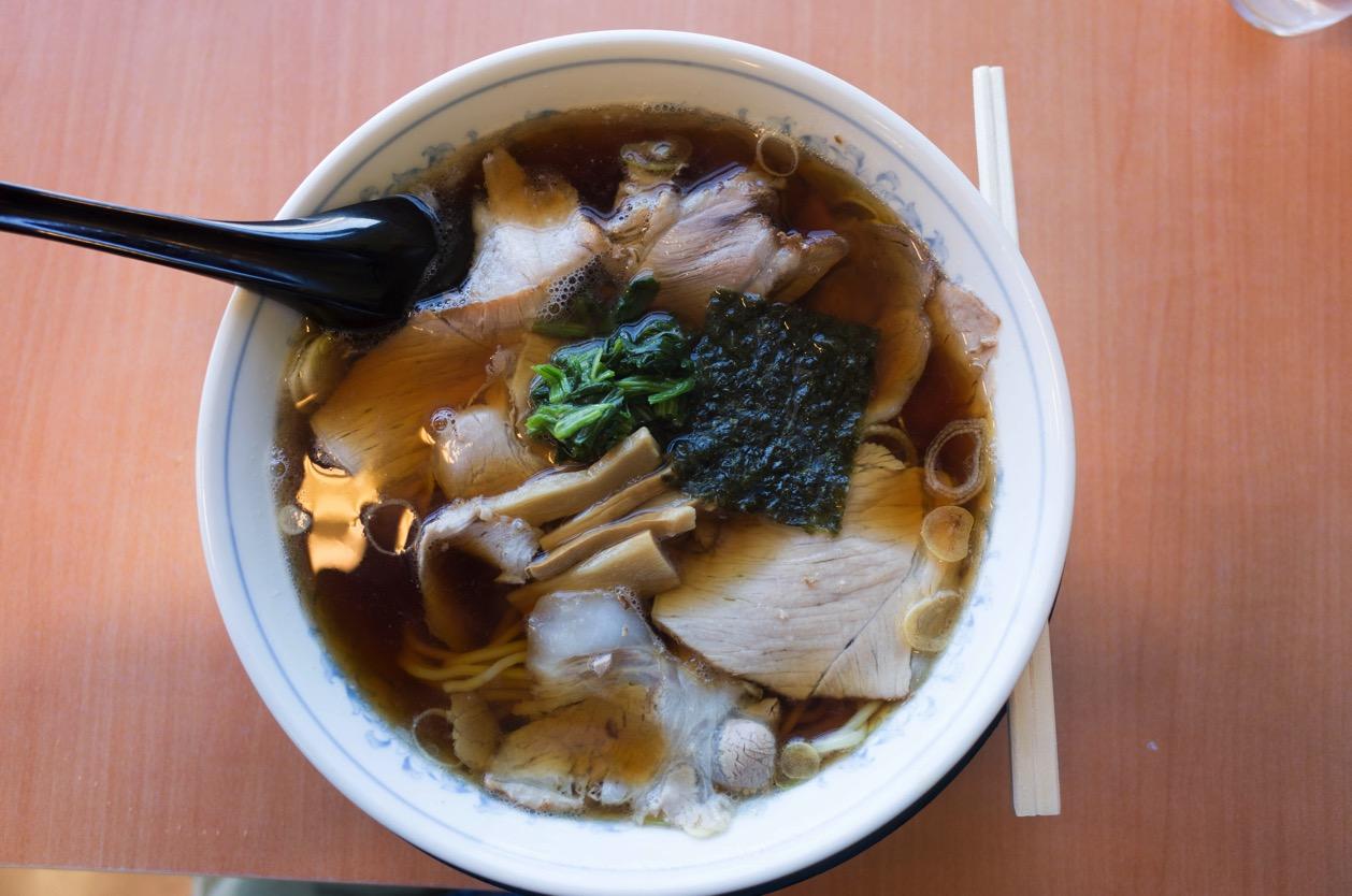 ラーメンあおきや スーパーセンタームサシ新潟店 長岡生姜醤油ラーメン、もう一つの有名店へ!