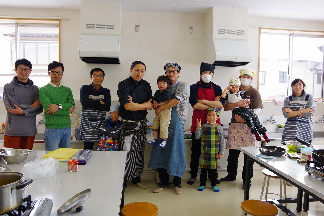 【イベントレポ】北区パパスクール『毎月一度はパパカレー』の極意を学ぶ!主夫って何者なの?ってのも少しだけお話しました。