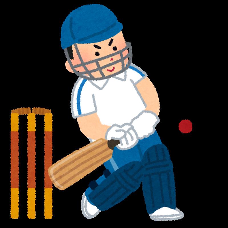 木村昇吾選手がクリケットに転向するというので、クリケットのルールを野球に例えて説明してみる。