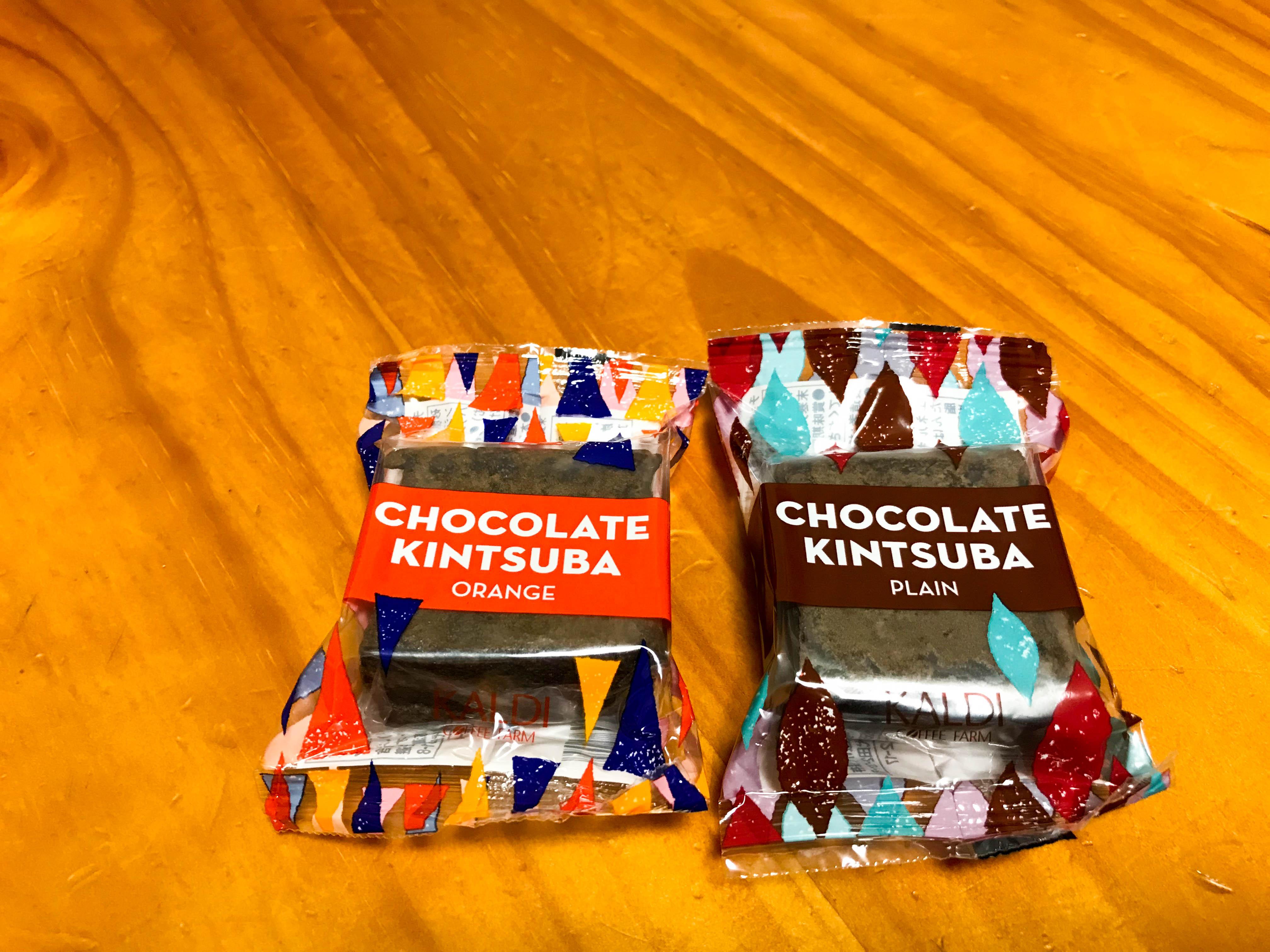 【カルディ チョコレートきんつば】 チョコレートと小豆の融合。興味本位で購入したら当たり商品でした!