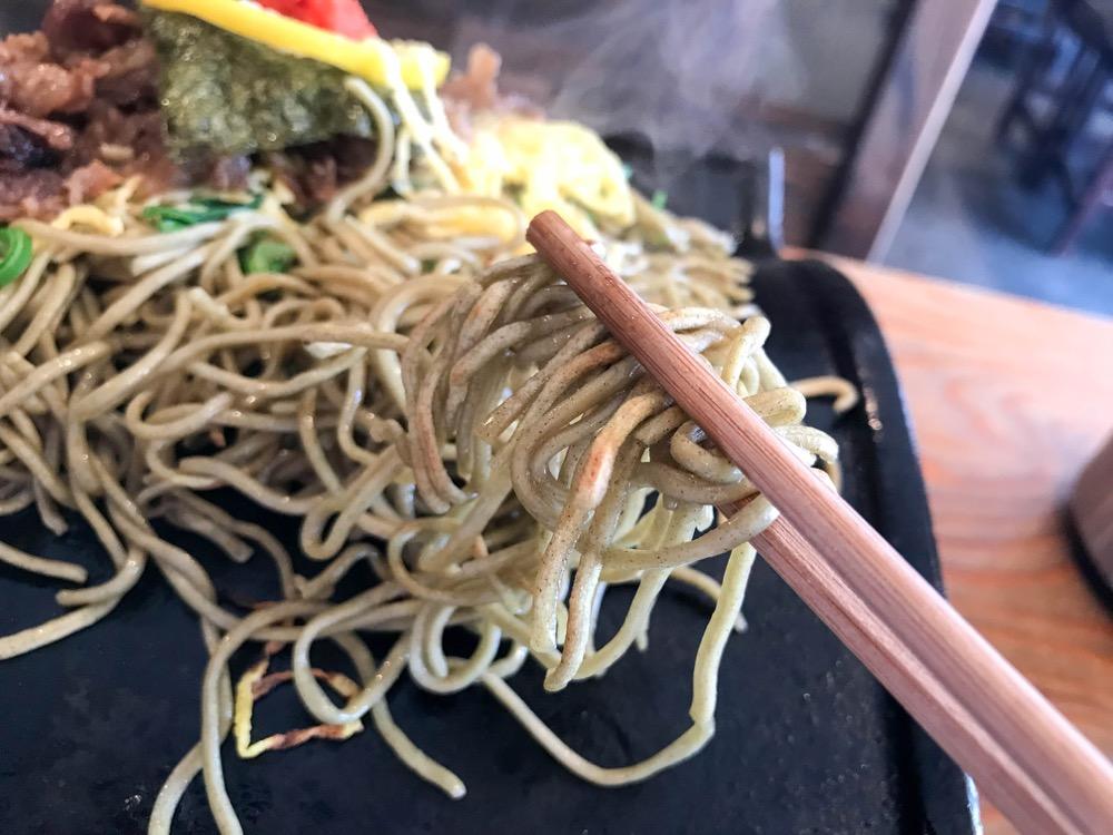パリパリ麺