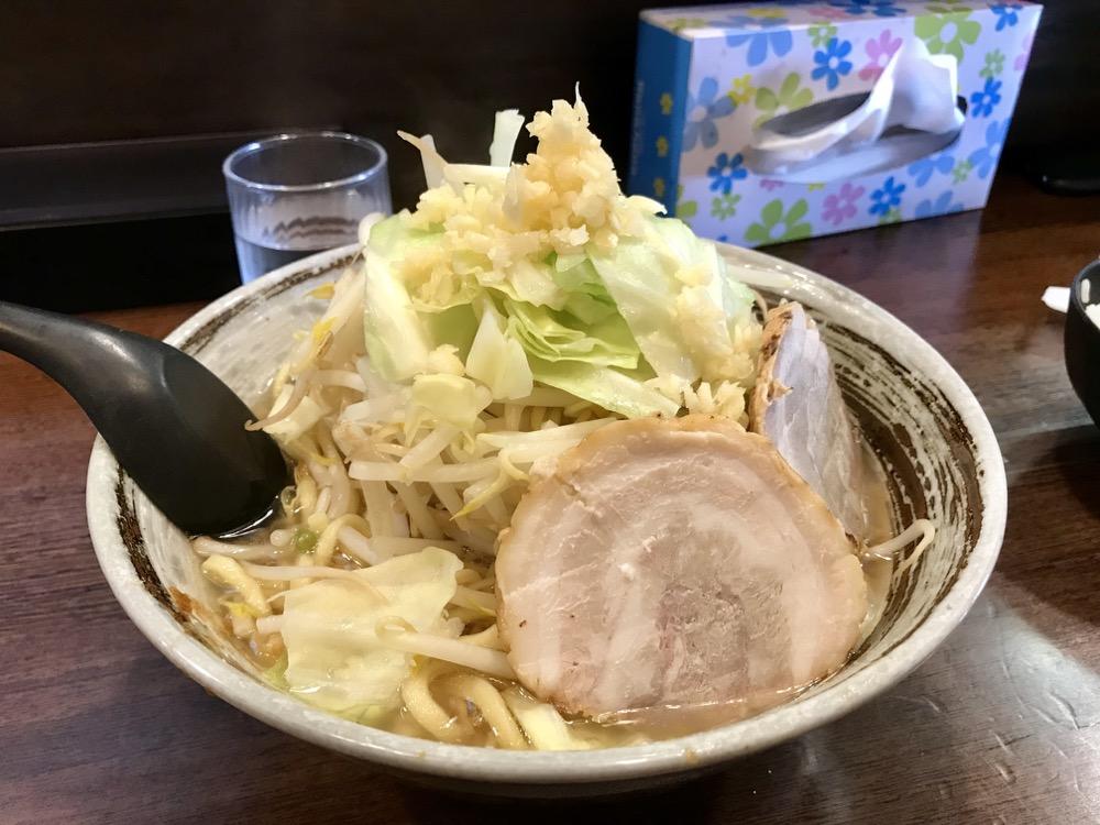 麺屋 愛0028(広島市安佐南区緑井)は広島における二郎インスパイア系の本命!